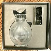 Lalique Crystal Langeais Decanter With Stopper 1537100 Brand Nib France