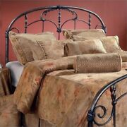 Bowery Hill King Metal Spindle Headboard In Antique Gray