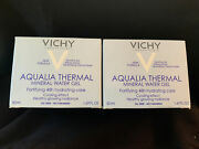 New 2pk Vichy Aqualia Thermal Mineral Water Gel, 48hr Hydrate 1.69 Oz Expired