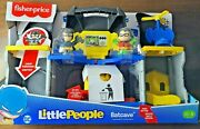 Fisher Price Batman Little People Kids Toy Batcave Dc Robin Playset Brand New