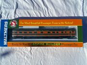 Ho Walthers 932-9038 Gn Great Northern Empire Builder Observation Lounge Car