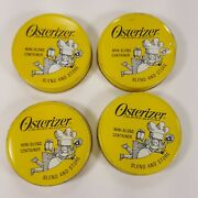 4 Piece Oster Osterizer Mini Blend Container Lids Used Free Shipping