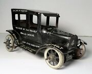 Vintage Marx Old Jalopy Model T Limping Lizzi Lithographed Tin Wind Up