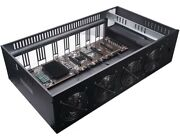 Cms 8 Card Gpu Crypto Mining Rig - Brand New Ready To Mine Just Add Your Gpuand039s
