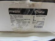 Proflo Pfwo250 Tub And Shower Waste And Overflow Brass Drain In Chrome