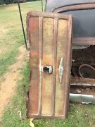 1950 Chevy Tailgate Tin Woody Station Wagon. The Bottom Is Rusted Out