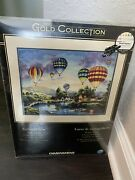 Dimensions Gold Collection Cross Stitch Kit Balloon Glow 35213 12 X 16