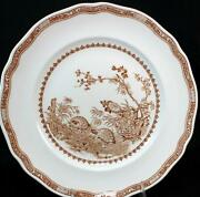 Furnivals Quail Brown Dinner Plate Great Condition