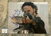 Andrew Lincoln Signed Auto Autograph 16x20 Photo Walking Dead With Quote Proof