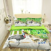3d Golden Pheasant 2784na Bed Pillowcases Quilt Cover Duvet Michael Sewell Fay