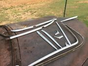 1950 Chevy Windshield Exterior Chrome Mouldings Tin Woody Station Wagon