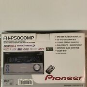 Vintage Pioneer Am/fm Cd Cassette Fh-p5000mp High End Motorized Face Dsp Dolby B