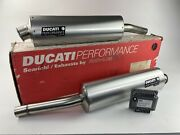 Ducati Performance 900ss Exhaust With Ecu Brand New.