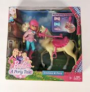 New Barbie And Her Sisters In A Pony Tale Chelsea And Pony Doll Set 2012