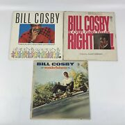 Bill Cosby Lp Vinyl Records Lot Of 3 - Wonderfulness, Is A Very Funny Fellow