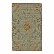 Feizy Vardo 8and0396 X 11and0396 Fine Oriental Wool Area Rug In Olive Gray/gold