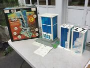 Rare Vintage Remco Earthquake Tower Rescue Playset With Instructions And Box