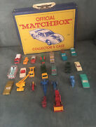 Lot Of 23 Vintage 1960s Lesney Matchbox Car Lot With 1966 Collector Case