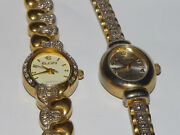Lot Of 2 Vintage Ladies Watches • Waltham And Elgin • New Batteries • Work Great