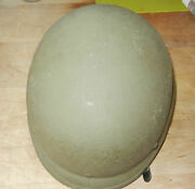 Vintage Pasgt Ballistic Combat Helmet W/liner Us Military Issue Small