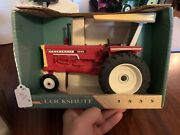 White Cockshutt 1555 Toy Tractor Collectors Edition Sun Shade New In Boxandnbsp