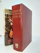Naveand039s Topical Bible Copyright 1974 Hardcover With Dust Jacket Billy Graham
