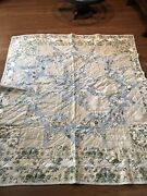 Estate Find - Handmade Patchwork Quilt-beautiful Blues And Whites- 67andrdquox76andrdquo