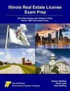 Illinois Real Estate License Exam Prep All-in-one Review And Testing To...