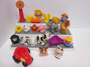 Fisher Price Little People Animal Sound Farm Replacement Animals 22 Piece Lot