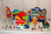 3 Toy Story Playsets Pizza Planet Tri-county Landfill Carnival Amusement More