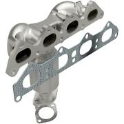 Catalytic Converter With Integrated Exhaust Manifold Fits Kia Spectra 2007