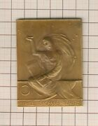 Superb Plate Medal Masonic 1930 The Friends Phil N° 11 Force Wisdom Beauty
