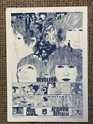The Beatles Revolver Limited Edition Signed By Klaus Voormann