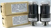 1mp Ecc35 6sl7gt Vt-229 5691 Tungsol Black Coated Amplitrex Tested2704025and02