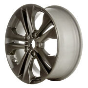 Alloy Wheel 17x7 5 Split Spoke Uses Tpms Medium Charcoal Painted W/machined Face