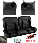 Sport R 55 Bench Seat And And Molded Door Panel Kit 1955-1959 Chevy Trucks - Tmi