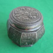 Derby S.p. Co International S. Co. Trinket Box With Lid 5