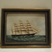 Unique Wedgwood Us Merchant Ship Plaque Great Republic After Skillet 1 Of 2 Made