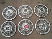 1965 1966 1967 1968 Mustang Wire Wheel Covers Fairlane 14