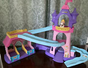 Fisher Price Little People Disney Princess Klip Klop Stable And Princess On Horse