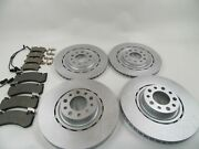 Bentley Mulsanne Front Rear Brake Pads And Rotors Topeuro 654