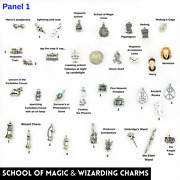 Harry Potter Charms Upick Magic Witch Wizard Wand Jewelry Wiccan Sorcery Gifts