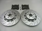 Mercedes Benz S63 S65 Amg Front Brake Pads And Rotors 465 Topeuro