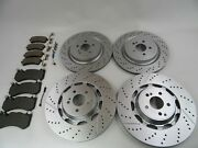 Mercedes Benz S63 S65 Amg Front Rear Brake Pads And Rotors 496 Topeuro