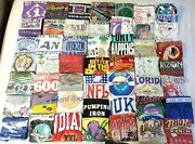 75 Vintage Graphic T Shirts Lot 80s 90s All Single Stitch Anvil Fotl Best Screen