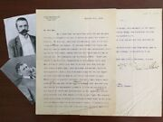 Stanford White Architect Signed Ltr, Frederick W Macmonnies Sculptor, West Point