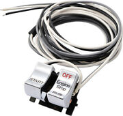Drag Specialties Chrome Start/stop Switch Kit For And03982 - And03995 - Ds-272255a