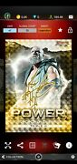Topps Wwe Slam - Triple H | Bowmanand039s Best | Power Producers Gold | 15cc