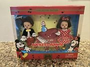 Mickey And Minnie Mouse Barbie Doll Nrfb Mib