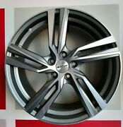 Set 4 Alloy Wheels Arcan Anthracite Diamond 7.5x18et45 5x112 66.6 Made In Italy